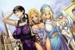 Queen's Blade: Wandering Warriors